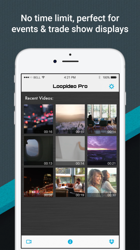 Loopideo - Loop Video Infinitely  Now Available On The Apple